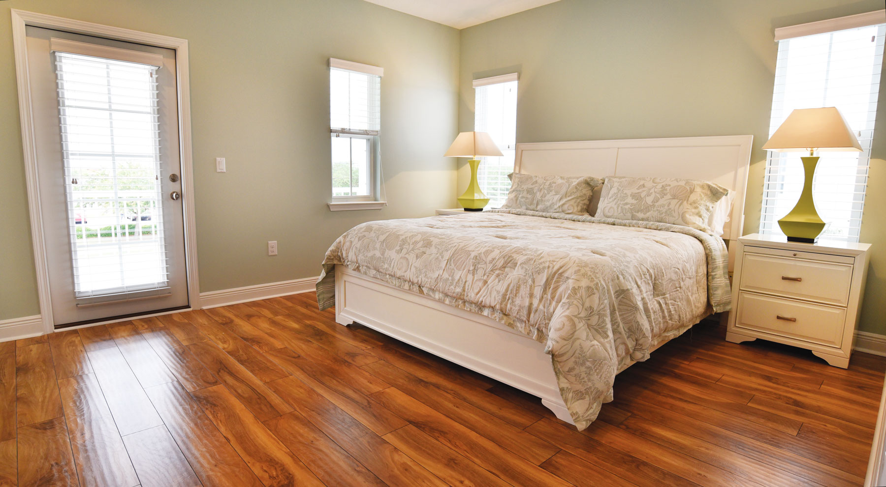 Each residence at Miller's Landing on Lake Powell will offer a spacious master suite.
