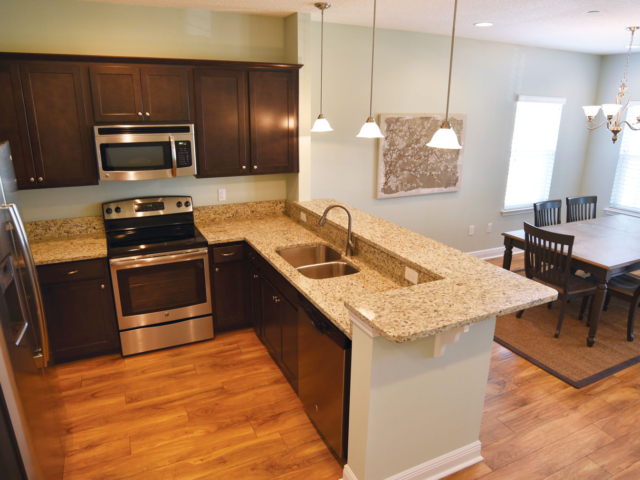 The spacious kitchens at Miller's Landing will offer high quality materials and appliances.