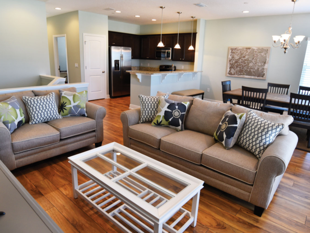 Each residence at Miller's Landing on Lake Powell will offer an open-plan main level with plenty of room for you and your family and friends.