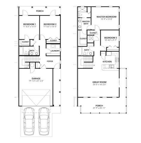 Lakeside Longview Floor Plan