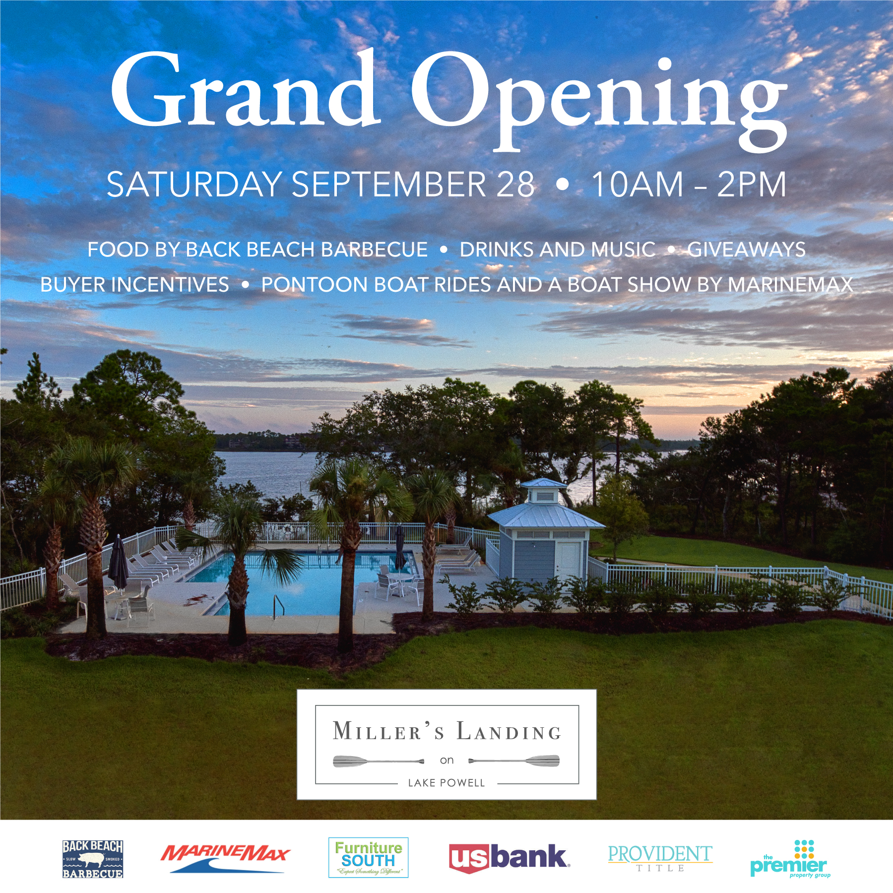 Grand Opening of our newest building Saturday September 28th from 10am – 2pm.